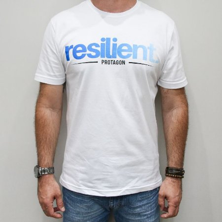 Camiseta Slim Resilient Degradê