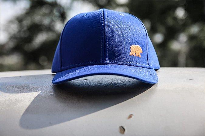 Azul Aba Curva - Urso