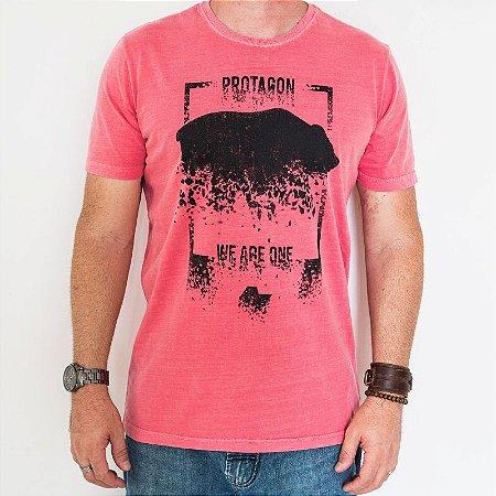 Camiseta Estonada Classic Urso Estilhaçado