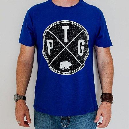 Camiseta Flamê Classic PTG SP Azul