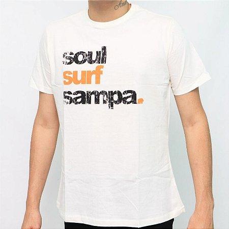 Camiseta Soul Surf Sampa - Off White