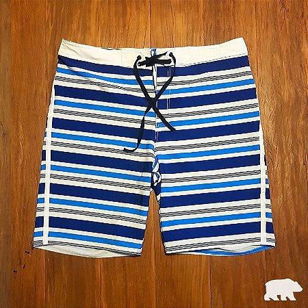 Bermuda Boardshorts Listrada Azul