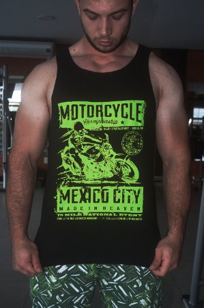 "Regata Preta ""MOTORCYCLE JR"""