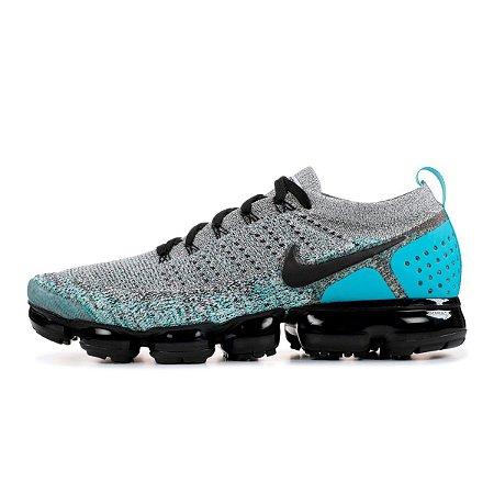 best website 04f86 324da Tênis Nike VaporMax Flyknit 2.0 Cinza/Azul