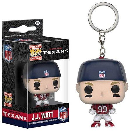 Chaveiro Funko POP! NFL - JJ Watt - Houston Texans
