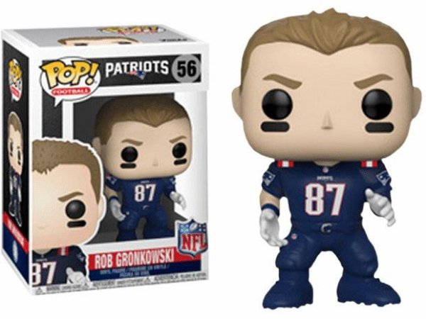 Funko POP! NFL - Rob Gronkowski - New England Patriots #56