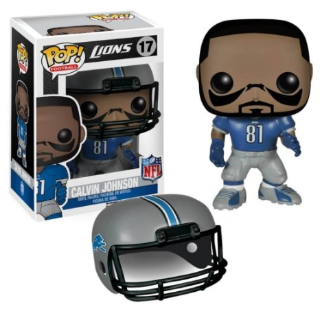 Funko POP! NFL - Calvin Johnson #17 - Detroit Lions