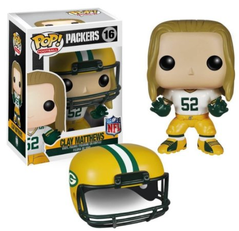 Funko POP! NFL - Clay Matthews #16 - Green Bay Packers