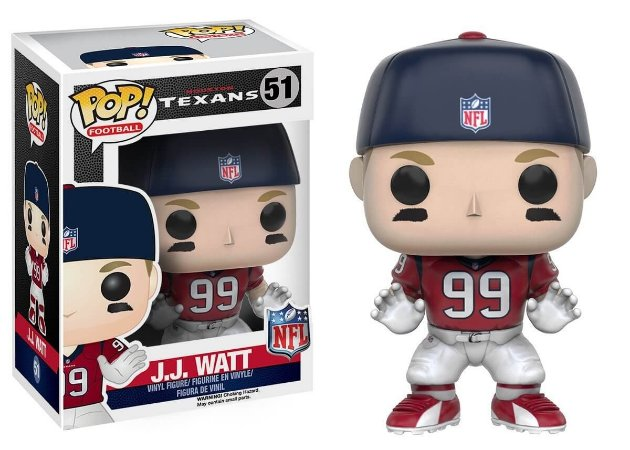 Funko POP! NFL - JJ Watt #51 - Houston Texans