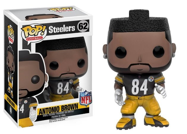 Funko POP! NFL - Antonio Brown #62 - Black - Pittsburgh Steelers