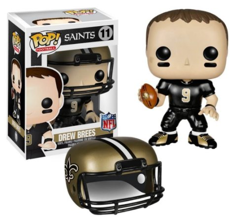 Funko POP! NFL - Drew Brees #11 - New Orleans Saints