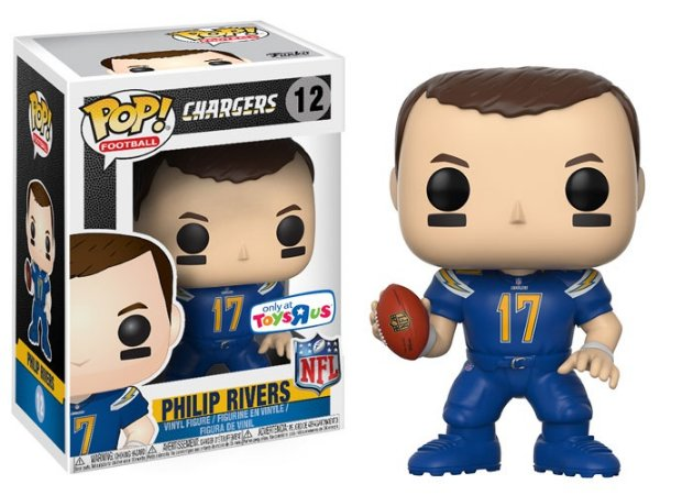 Funko POP! NFL - Philip Rivers - Los Angeles Charges #12