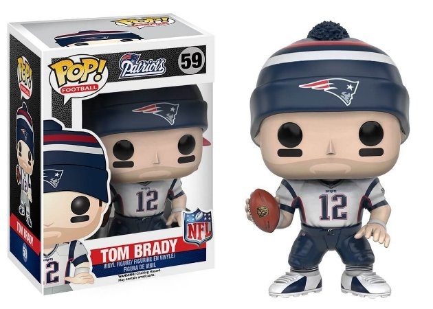 Funko POP! NFL - Tom Brady #59 - White - New England Patriots
