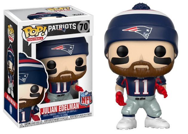 Funko POP! NFL - Julian Edelman #70 - New England Patriots