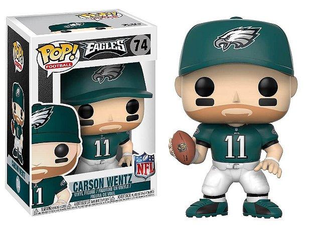 Funko POP! NFL - Carson Wentz #74 - Philadelphia Eagles