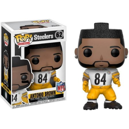 Funko POP! NFL - Antonio Brown #62 - White - Pittsburgh Steelers