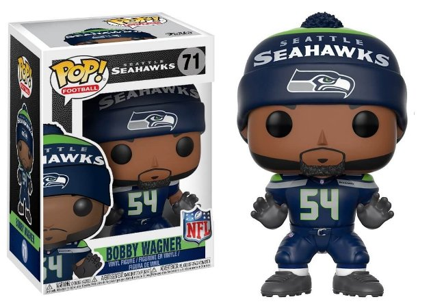 Funko POP! NFL - Bobby Wagner #71 - Seattle Seahawks
