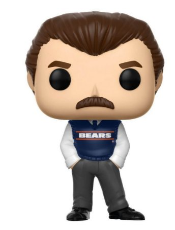 Funko POP! NFL - Mike Ditka Coach - Chicago Bears #90