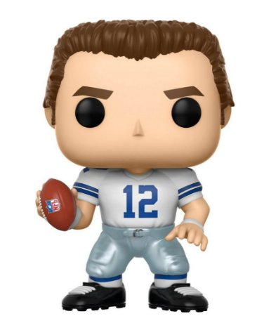 Funko POP! NFL - Roger Staubach Home - Dallas Cowboys #82