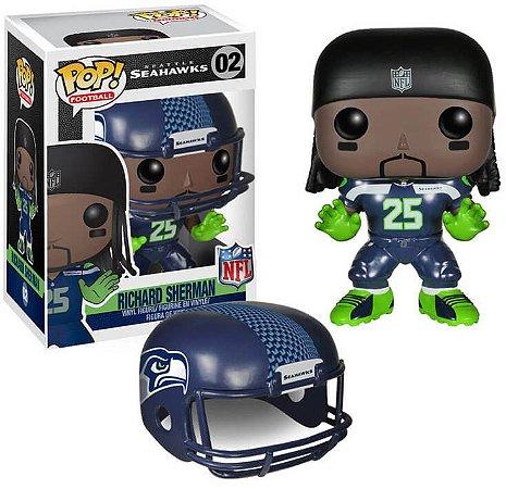 Funko POP! NFL - Richard Sherman #02- Seattle Seahawks