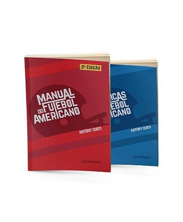 Pack com 2 livros Antony Curti
