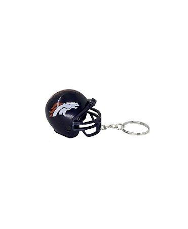 Chaveiro Capacete NFL - Denver Broncos