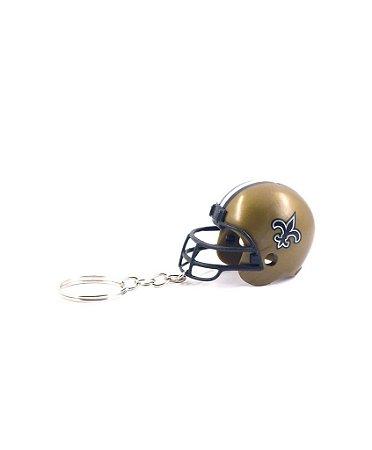 Chaveiro Capacete NFL - New Orleans Saints