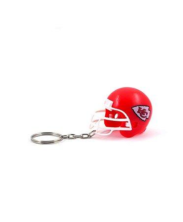 Chaveiro Capacete NFL - Kansas City Chiefs