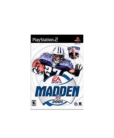 Jogo Madden NFL 2001 - Playstation 2 - PS2