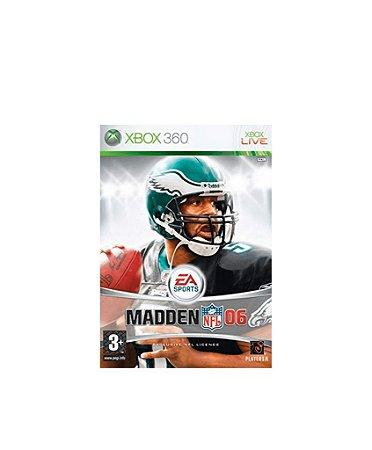 Jogo Madden NFL 06 - XBOX 360