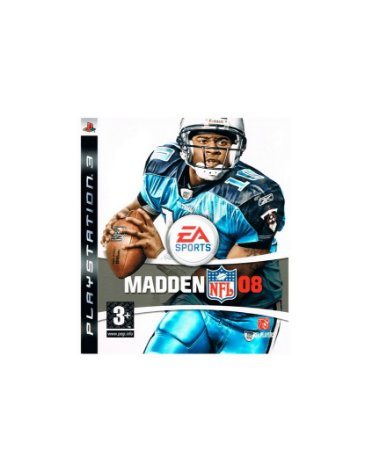 Jogo Madden NFL 08 - Playstation 3 - PS3