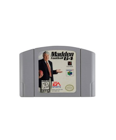 Jogo Madden Football 64 - Nintendo 64