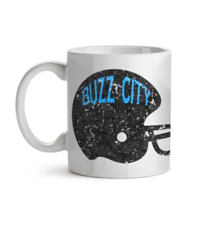 Caneca Helmet Carolina Buzz City Branca