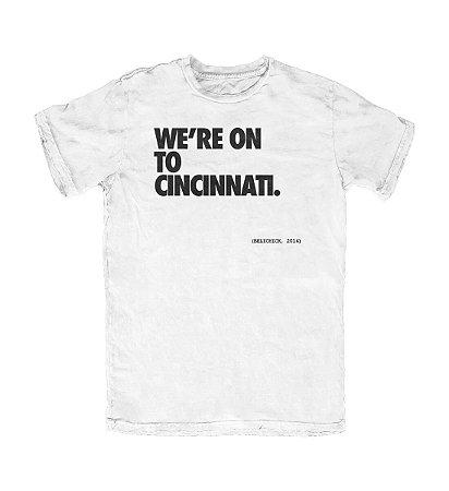 Camiseta PROGear New England We're On To Cincinnati
