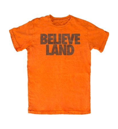 Camiseta PROGear Cleveland Browns Believe Land
