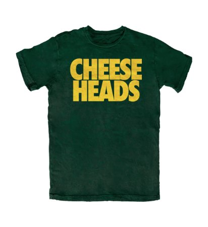 Camiseta PROGear Green Bay Packers Cheese Heads