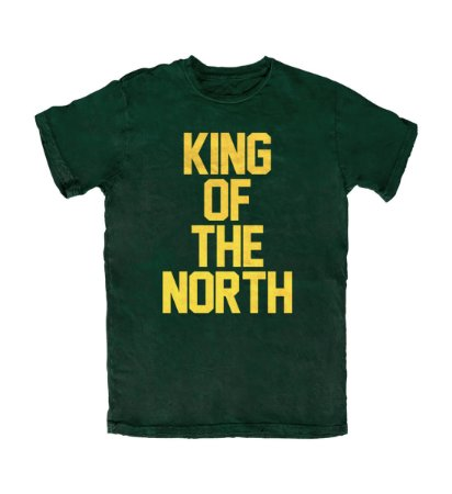Camiseta PROGear Green Bay Packers King Of North
