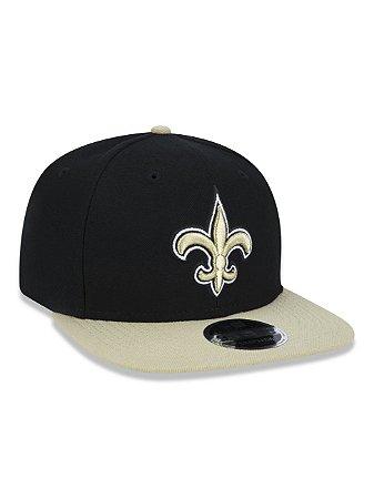 Boné 950 New Era NFL New Orleans Saints Preto