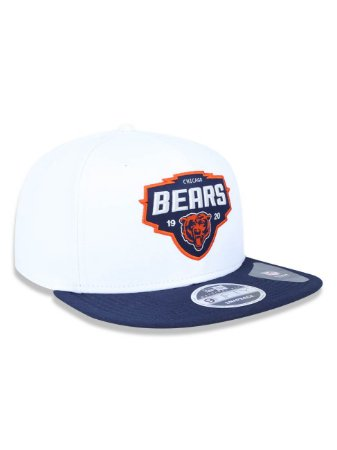 Boné 950 New Era NFL Chicago Bears Branco