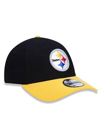 Boné 940 New Era NFL Pittsburgh Steelers Preto