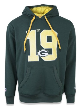 Moletom NFL Green Bay Packers Verde
