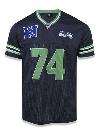 Camiseta Jersey NFL Seattle Seahawks Marinho