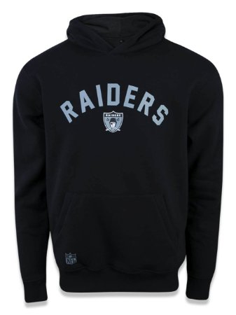 Moletom NFL Oakland Raiders Preto