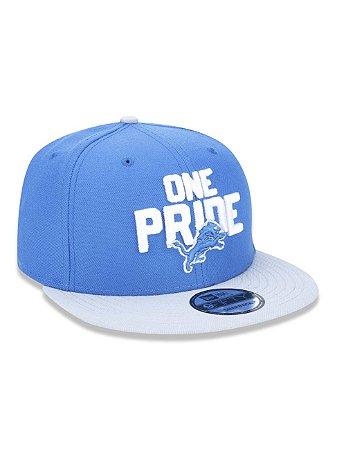 Boné 950 New Era NFL Detroit Lions Azul