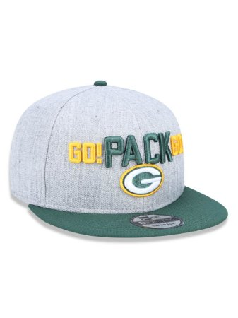 Boné 950 New Era NFL Green Bay Packers Mescla Cinza