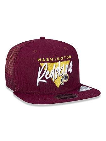 Boné Trucker New Era NFLWashington Redskins Vinho