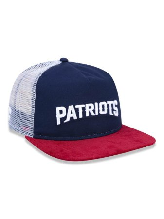 Boné 950 New Era NFL New England Patriots Marinho/Branco