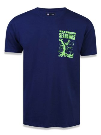 Camiseta NFL Seattle Seahawks Marinho