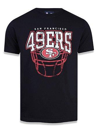 Camiseta NFL San Francisco 49Ers Preto