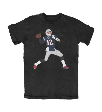 Camiseta PROGear Silhouette Tom Brady #2